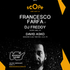 affiche Scope Label Night #2 Francesco Farfa, Dj Freddy, David Asko