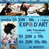 affiche CONCERT ET EXPO D'ART 2017 New Edition