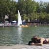 Baignade autorisée dans le Bassin de la Villette