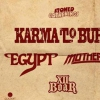 affiche Karma To Burn - Egypt - Mothership - XII Boar - PARIS
