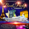 affiche ROYAL BOAT SUMMER PARTY ( FILLE > GRATUIT, BATEAU CLUB GEANT, GRANDE TERRASSE, 2 AMBIANCES, ROSE, MOJITOS)