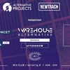 affiche Aftershow: Warehouse Alternative: Blawan • Roman Poncet • Wlderz • Thomas Delecroix