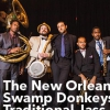 affiche New Orleans Swamp Donkeys Traditional Jass Band