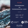 affiche Technorama Records Vs Phonographe Corp.
