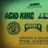 affiche Acid King - Elder - Toner Low - Child - King Buffalo