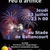 affiche Fête nationale à Ballancourt