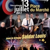 affiche Fête Nationale au Bourget : concert et feu d'artifice