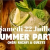 affiche Summer Party