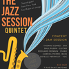 affiche Jeudi Jazz Only - The Jazz Session Quintet - Special Guest Saul Rubin on strings