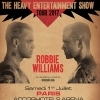affiche ROBBIE WILLIAMS - THE HEAVY ENTERTAINMENT SHOW
