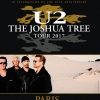 affiche U2 - PACKAGES - THE JOSHUA TREE TOUR 2017