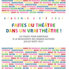 affiche Stage Shakespeare