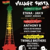 affiche TWINKLE BROTHERS, BIG FAMILI, MOMO ROOTS @ VILLAGE RASTA - Cabaret Sauvage