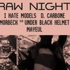 affiche Jeudi Techno x RAW : I Hate Models • D. Carbone • Mørbeck x UBH