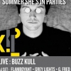 affiche Buzz Kull + Summer She's In Parties