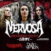 Nervosa + Reapter + Dead Season