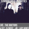 affiche The Doctors + Summer She's In Parties