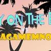 affiche Jacky On The Beach // Les Agamemnonz