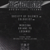 affiche Headlight - A/V Techno w/ Society of Silence, Coldgeist