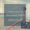 affiche Holidays Party