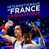 affiche INTERNATIONAUX DE FRANCE - GYMNASTIQUE ARTISTIQUE