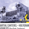 affiche Martial Canterel (Release Party) + Holygram & Adam Usi