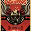 affiche THE CASANOVAS + FIRE! FIRE! FIRE!