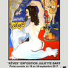 affiche Exposition Juliette Bart