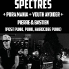 affiche Spectres + Pura Mania - Youth Avoiders - Pierre & Bastien