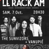 affiche THE SUNVIZORS + VANUPIE