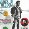 affiche PROJECTION : BLACK TO FREEDOM