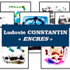 affiche Exposition Ludovic Constantin
