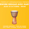 affiche Afterwork Reggae | Mary May aux 4Temps par OpeningStage