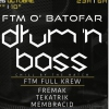 affiche FTM O Batofar-Drum&Bass Party