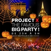 affiche PROJET X HALLOWEEN : OPEN BAR ! ( 2 SALLES, 2 AMBIANCES ) THE BIG PARTY
