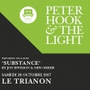 affiche PETER HOOK & THE LIGHT - PARIS - JOUENT