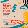 affiche Very Merry Pop Up Store