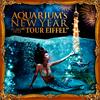 Reveillon 2018 AQUARIUM's New Year 'TOUR EIFFEL' (49E tout compris) flyer