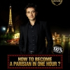 affiche How to become a Parisian in one hour ?