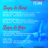 affiche Stages Danse & Yoga