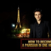 affiche OLIVIER GIRAUD - HOW TO BECOME PARISIAN IN ONE HOUR?