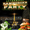 affiche AFTERWORK HAMBURGER PARTY SUR LES TOITS DE PARIS (CLUB INTERIEUR + TERRASSE)