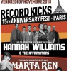 affiche RECORD KICKS 15TH ANNIVERSARY
