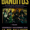 affiche Banditos (rock'n'roll US - Bloodshot records) + guest