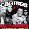 affiche CBGIBUS #5 - THE DWARVES - NICK OLIVERI'S DEATH ELECTRIC + L.C