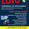 affiche Loto du football club Moret