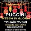 PUCCINI, MESSA DE GLORIA - Tchaikovski, concerto pour violon