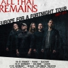 affiche ALL THAT REMAINS -