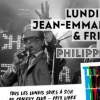 affiche THIS IS MONDAY - Jean-emmanuel Deluxe & Friends X Philippe Monge