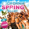 affiche SPRING BREAK 'California Party'